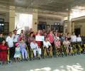 Caritas  Phan Thiết trao xe lăn cho người khuyết tật