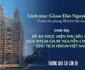 Đề án thực hiện thư kêu gọi của Đức TGM Giuse Nguyễn Chí Linh - Chủ tịch HĐGM Việt Nam