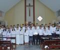 Giáo xứ Chính Tòa - 21 bạn trẻ  Gia nhập Giáo Hội