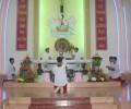 Giáo xứ Thánh Tâm mừng lễ Bổn mạng và Chầu Lượt