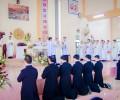 Tu Đoàn Thừa Sai Thánh Mẫu, Lễ Khấn Dòng.