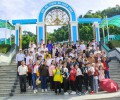 Giới trẻ giáo xứ Hiệp Đức hành hương về với Mẹ Tà Pao