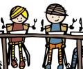 Giáo dục con cái trong bữa ăn gia đình