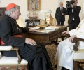 Đức Thánh Cha Phanxicô tiếp Đức Hồng Y George Pell