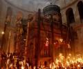 Video: Hiện tượng lửa thánh lạ lùng tại Mộ Chúa ở Giêrusalem ngày 27/04/2019