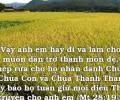 Thứ Tư 23/09/2020: Rao truyền Lời Chúa – Suy Niệm của Linh Mục Phaolô Nguyễn Trọng Thiên