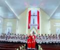 GxThanh Xuân: Thánh Lễ Ban Bí Tích Thêm Sức Cho 71 Em Thiếu Nhi