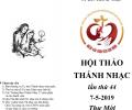 Hội Thảo Thánh Nhạc Toàn Quốc lần thứ 44 & Đêm Thánh ca 'Tình Cha Nghĩa Mẹ'
