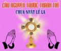 Cầu nguyện trước Thánh Thể- Ngày 05.04.2020 – Chúa nhật lễ Lá – Mt 27,11-54