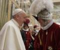 Đức Thánh ChaPhanxicô gặp các vệ binh Thuỵ Sĩ