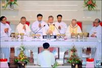 Lễ Truyền Dầu tại Nhà Thờ Thanh Xuân.