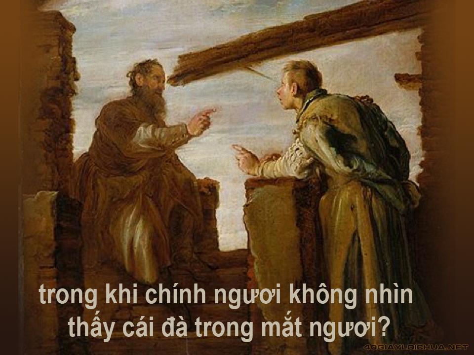 CHÚA NHẬT VIII THƯỜNG NIÊN C
