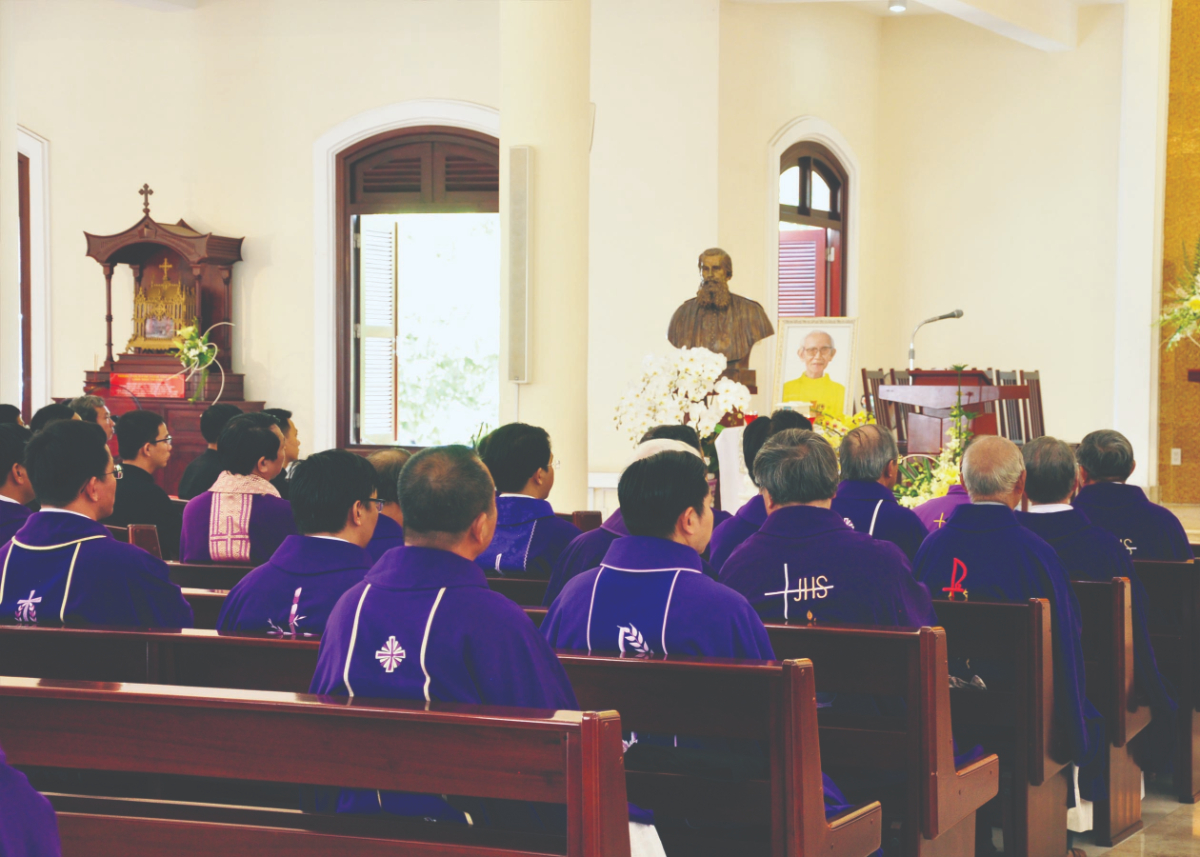 Lễ giỗ giáp năm cha Phaolô Lê Tấn Thành