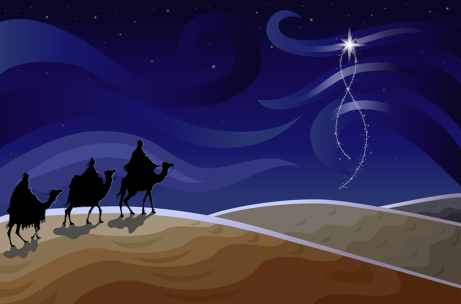 bigstock Three Wise Men And The Star 8890138
