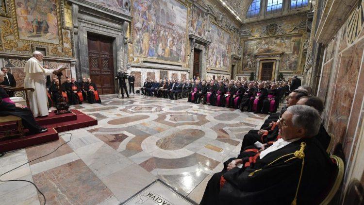 ĐTC Phanxicô thiết lập luật mới về tư pháp cho thành Vatican