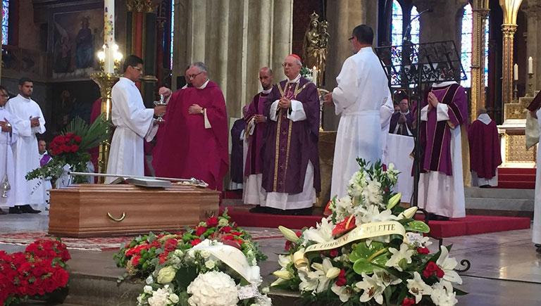 Thánh Lễ an táng vị Đại Ân Nhân của Giáo Hội...