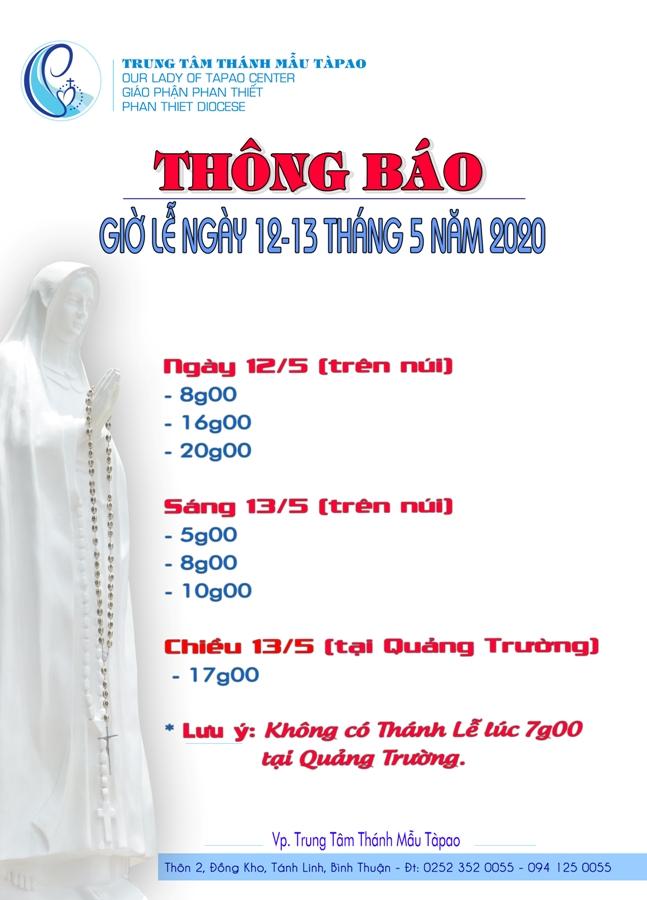 thong bao gio le 12 13 thang 5